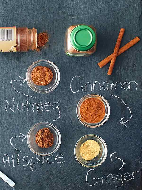 pumpkin spice seasonings above