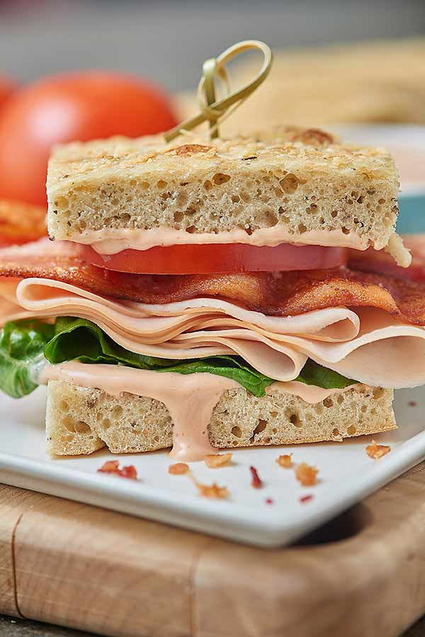 Turkey Bacon Bravo Sandwich - Panera Copycat Recipe