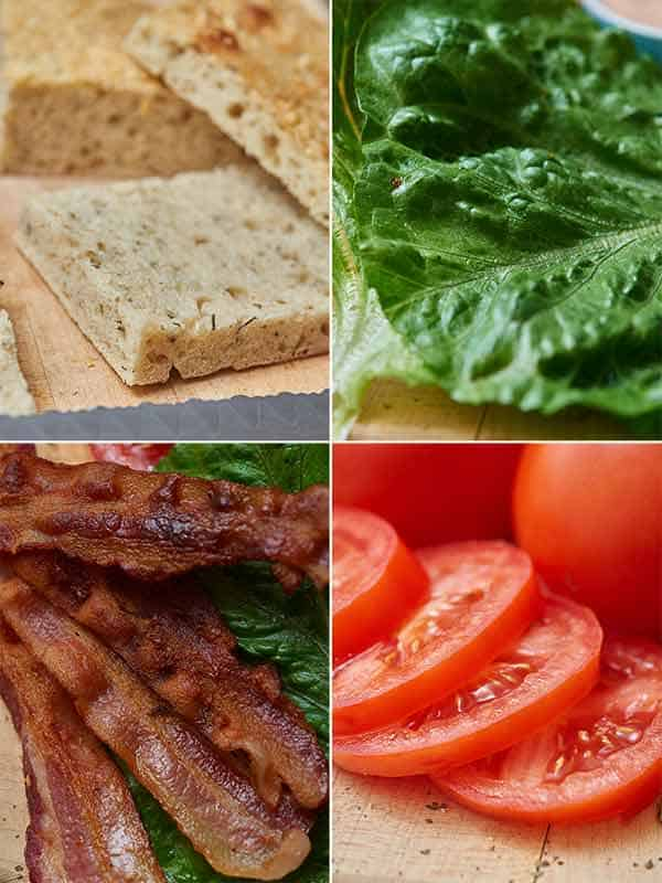 Bacon bravo sandwich ingredients