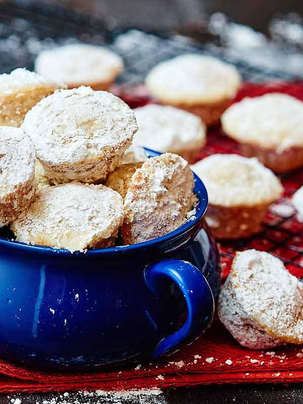 Mini Egg Nog Doughnut Muffins Recipe — Dishmaps