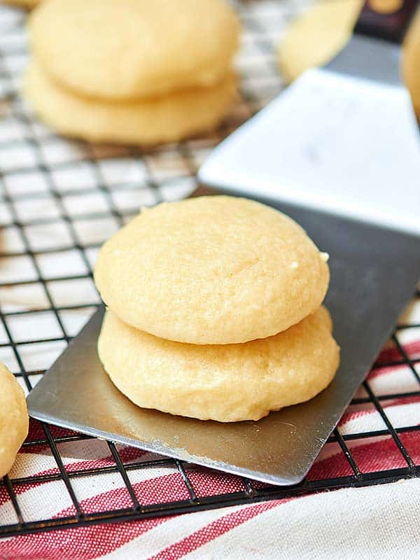 Grandma's Best Sugar Cookies - Frosted, Soft, & Fluffy