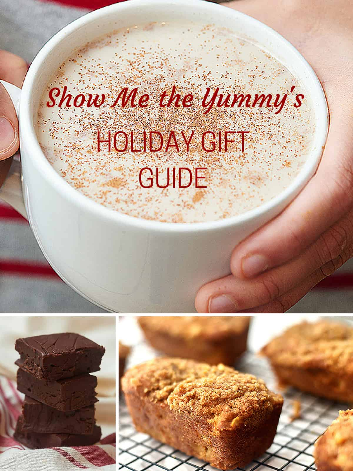 The perfect holiday gift guide for the foodie, the significant other, and even the dog! showmetheyummy.com #holiday #christmas #holidaygifts #giftguide #foodgifts #diy #gifts