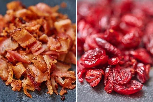 bacon and craisins
