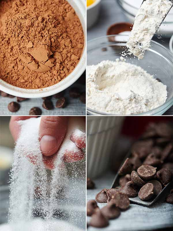 Do you like warm brownies? Do you like chocolate? Do you like your brownies extra thick, chewy, and fudgy? Yes? Of course you do! So, done, done, and done! These one bowl brownies are for you. showmetheyummy.com #brownies #chocolate #baking #holidaytreats #christmas