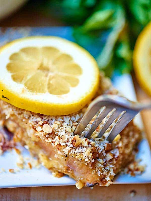 Pecan Crusted Salmon Food Network