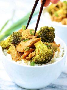 Crockpot Chicken and Broccoli