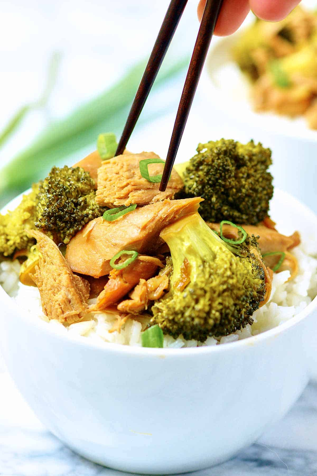 Crockpot Chicken And Broccoli Recipe Healthy Chinese Chicken