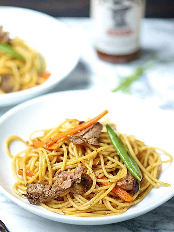 Easy beef lo mein chinese take out fake out easy beef lo mein forumfinder Images