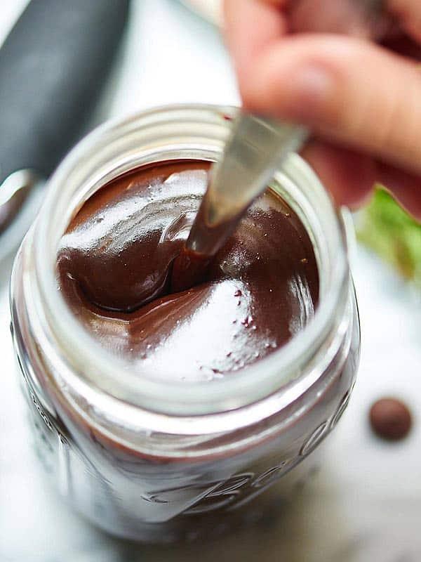 jar of hot judge sauce above