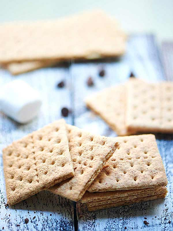 stacked graham crackers