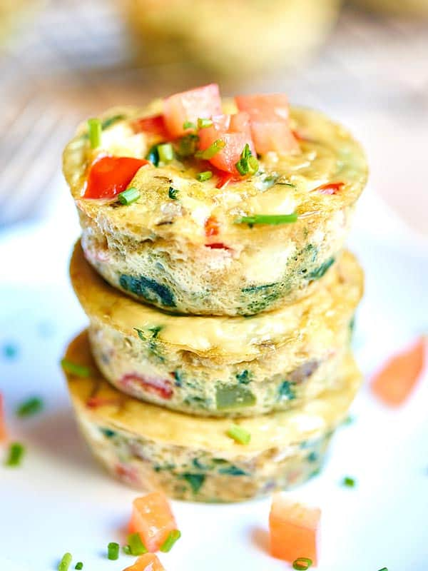 These Healthy Egg Muffin Cups Can Be Made In Advance Have Less Than 50 Calories