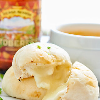 Cheese Bombs with Beer Cheese Dip
