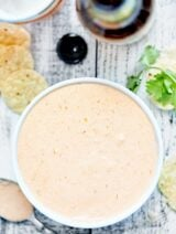 This Cream Cheese Salsa Dip requires two ingredients and 30 seconds of prep! It's addicting, it's creamy, it's so easy, and the spice level is up to you! showmetheyummy.com #creamcheese #salsa #dip