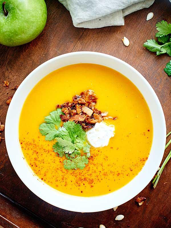 This Crockpot Butternut Squash Soup Recipe Is Vegan Gluten Free Healthy Full Of