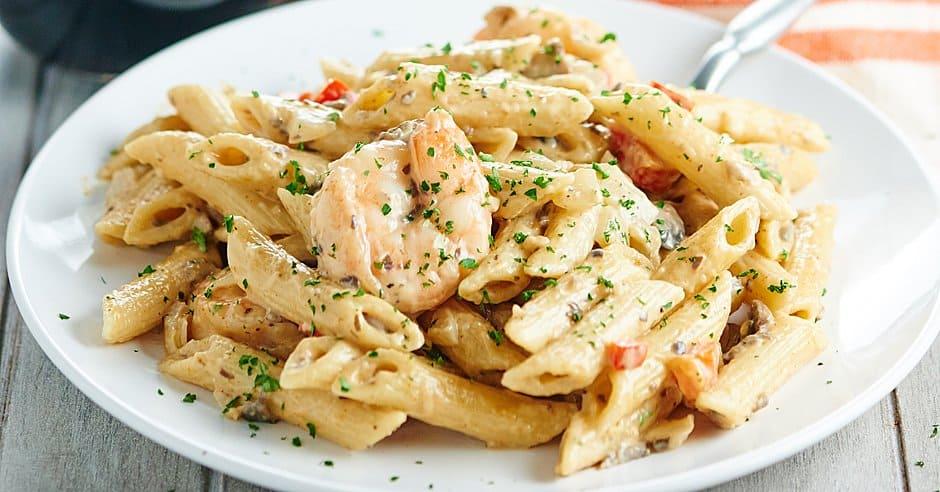 Easy Shrimp Alfredo An Easy Recipe For Shrimp Pasta