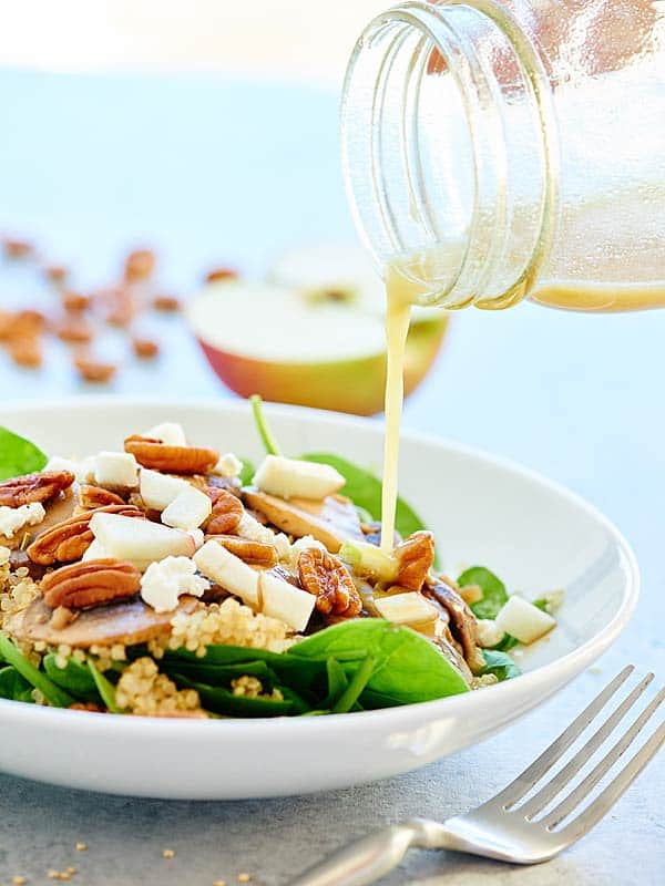 Quinoa Salad with Apple, Chickpeas, Toasted Almonds & Apple ..