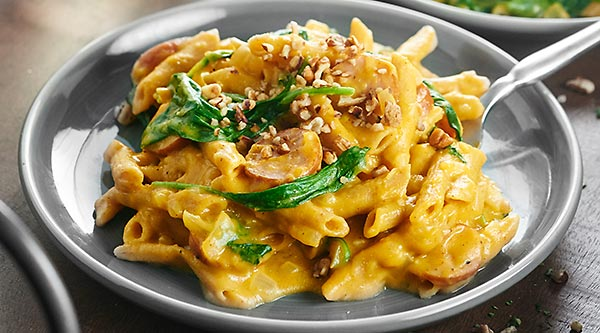 This One Pot Pumpkin Pasta Only Dirties Dish And Is Full Of Healthy Delicious