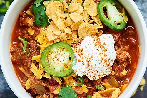 Slow Cooker Beef Chili A Quick And Easy Dinner