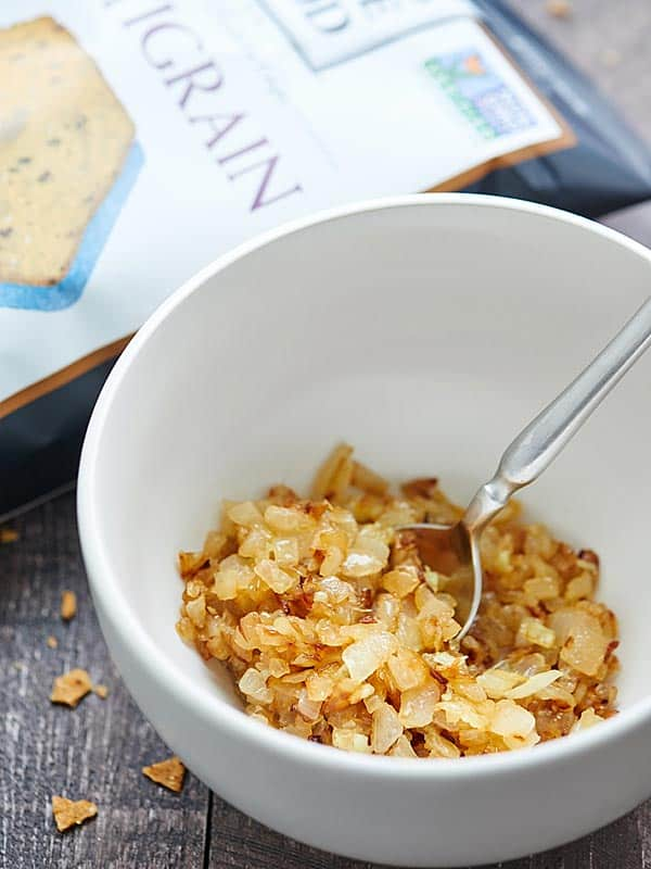 caramelized onions in bowl