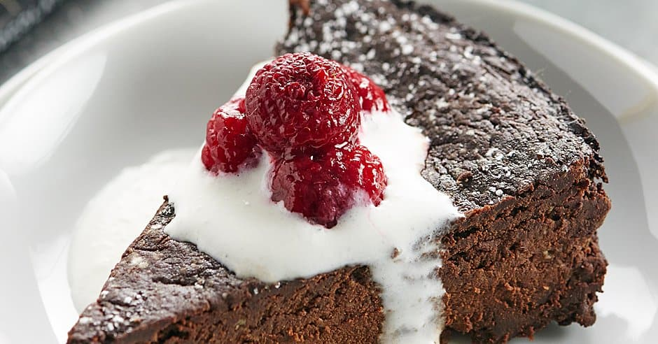Good Taste Flourless Chocolate Cake