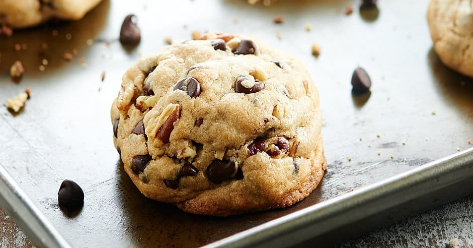 February 2016 Recipes 2016 6 26 Chocolate Chunk Iron Skillet Cookie Chocolate Magic Shell >> Fluffy Chocolate Chip Cookies Recipe W Toasted Pecans