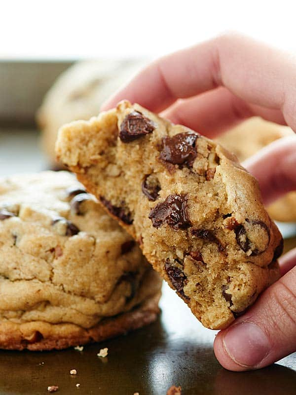 Double Chocolate Chip Orange Cookies