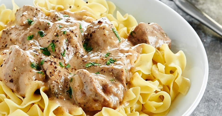 Slow Cooker Beef Stroganoff Recipe No Cream Of X Soup