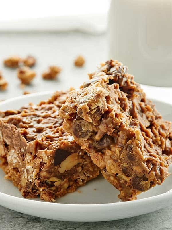 Vegan granola bars recipe peanut butter dessert bars for Bar food yummy
