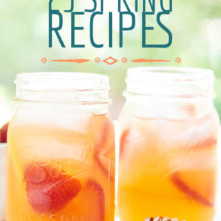 The BEST Spring Recipes! Everything from breakfast to dinner to desserts and drinks, these fresh, simple recipes are my favorites for spring! showmetheyummy.com #spring #springrecipes