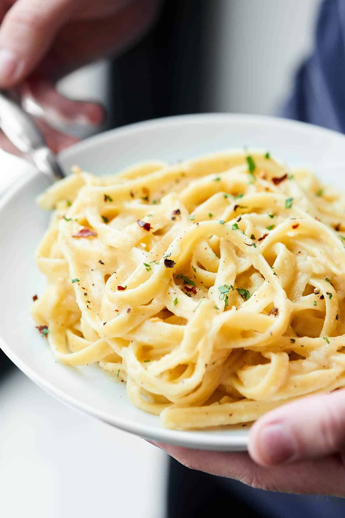 Healthy Alfredo Sauce Recipe Only 130 Calories Per Serving