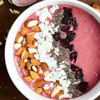 Cherry Smoothie Bowl Recipe