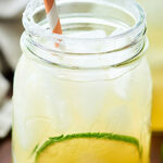 A classic, Easy Margarita Recipe. 5 ingredients: tequila, simple syrup (or agave), lime, lemon, and orange juice! A simply perfect and refreshing cocktail! showmetheyummy.com #margarita #limemargarita