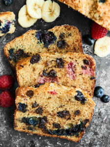 Berry Banana Bread Recipe