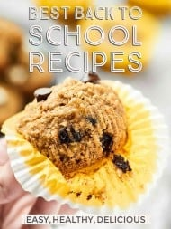 The Best Back to School Recipes for 2016! Everything from healthy breakfasts to make ahead lunches, after school snacks, slow cooker dinners, and after dinner sweet treats. We've got you covered! Let's do this. showmetheyummy.com #backtoschool #backtoschoolrecipes