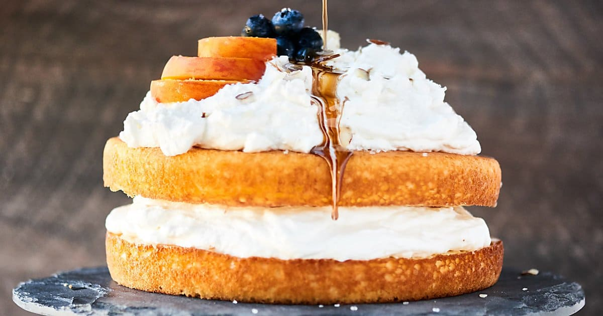 Chardonnay Wine Cake Recipe