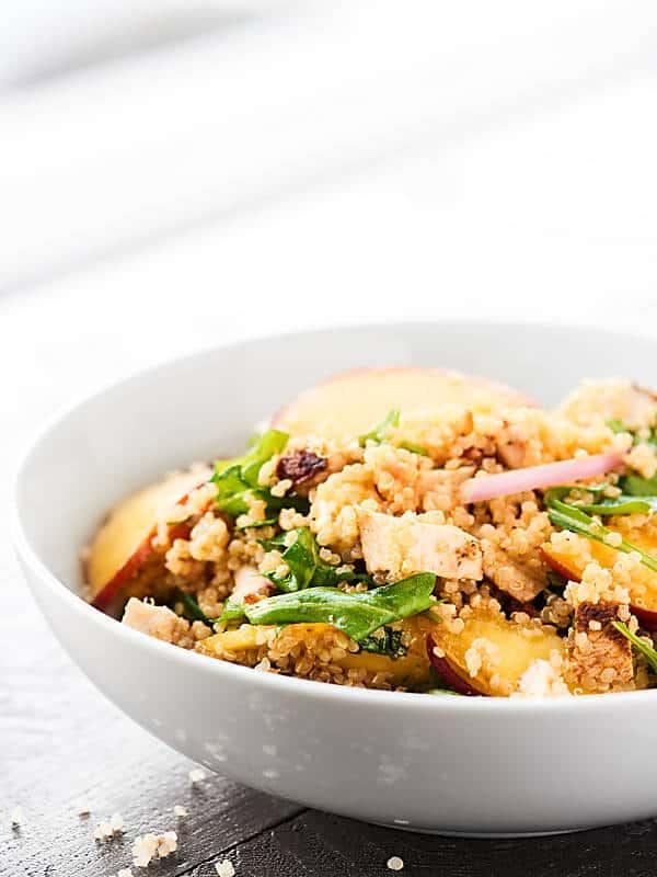 chipotle chicken salad in bowl