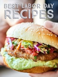 Let's celebrate this long Labor Day weekend with all my favorite Labor Day Recipes! Make the most of these last few days of summer with all the yummy food! showmetheyummy.com #labordayrecipes #summerrecipes