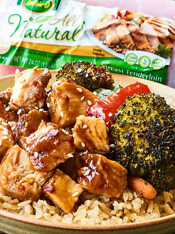 Teriyaki turkey tenderloin recipe 10 ingredients 10 mins prep only 10 ingredients 10 minutes and one dish are needed to make the easiest forumfinder Choice Image