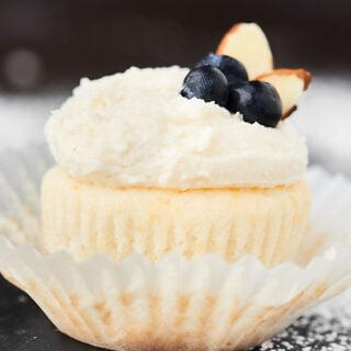 This seriously is The Best Vanilla Frosting Recipe! Only five ingredients needed to make this ultra creamy, super fluffy, perfectly vanilla-y, sweet, but not too sweet buttercream frosting! showmetheyummy.com #bestvanillafrosting #vanillabuttercream