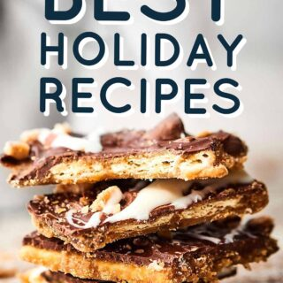 The Best Holiday Recipes for 2016! Everything from Christmas ham to holiday brunch, your favorite cookies and candies, drinks, sides, appetizers and more! showmetheyummy.com #holidayrecipes #christmasrecipes