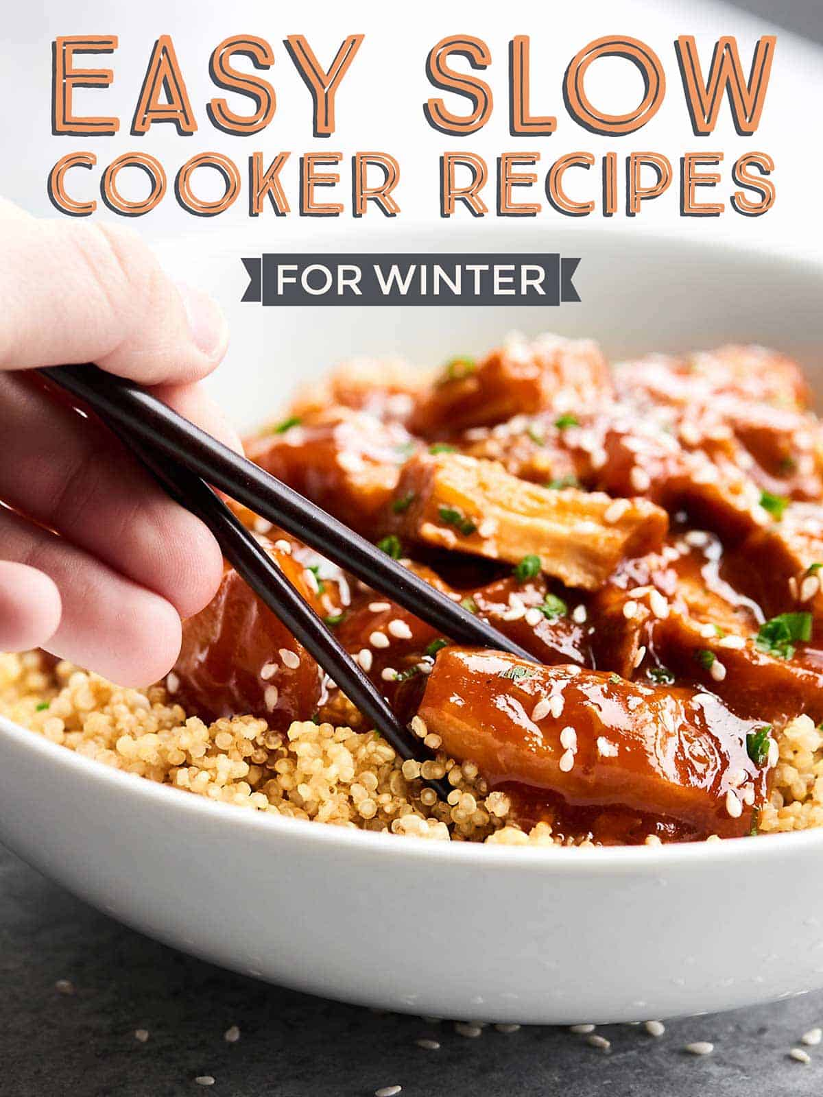 With winter weather in full swing, it's peak season for comfort food. These healthy slow-cooker recipes are packed with bold flavors and nutrient-dense ingredients to satisfy the whole family.