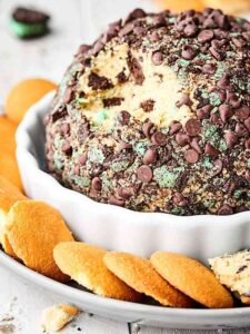 Mint Oreo Cream Cheese Ball Recipe