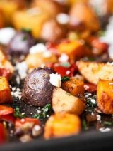 Slightly crispy exterior with perfectly fluffy centers, and smothered in butter and spices, these Roasted Breakfast Potatoes are quick, EASY, and completely addicting. showmetheyummy.com