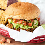 This Black Bean Burger Recipe is PACKED with vegetables and flavor and is super quick and easy to make. All you need is 10 minutes and a food processor! Vegan. Gluten Free. showmetheyummy.com