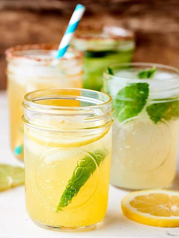 #ad Five Ingredient Margaritas - 4 Ways! Citrus Margarita. Spicy Mango Margarita. Mojito Margarita. Cucumber Chili Margarita. Cheers! showmetheyummy.com Made in partnership w/ Kettle Brand Potato Chips