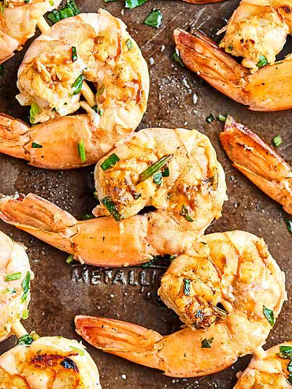 Grilled Shrimp Skewers Recipe Healthy Gluten Free Quick Amp Easy