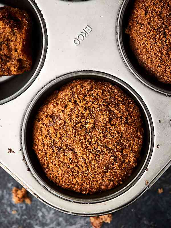 Brown Sugar Banana Nut Muffins. Loaded with ripe bananas, sour cream, cinnamon, and TWO kinds of nuts: walnuts and pecans. These muffins are SO moist and fluffy! showmetheyummy.com