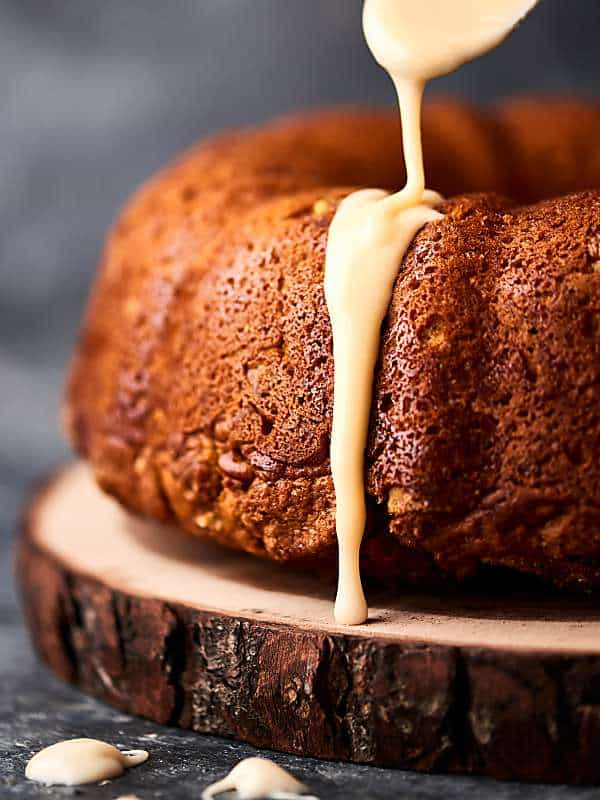 Easy Pumpkin Coffee Cake Recipe - w/ Spice Cake Mix ...