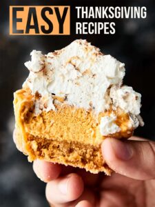 Easy Thanksgiving Recipes! Everything from snacks, apps, sides, and desserts! showmetheyummy.com