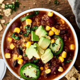 Instant Pot Vegetarian Chili Recipe